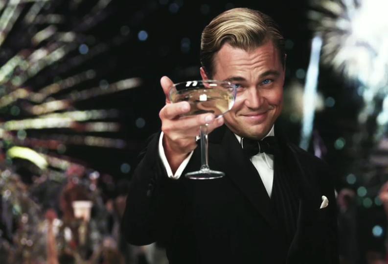 Леонардо Ди Каприо как мем. Сегодня ему — 39 лет!