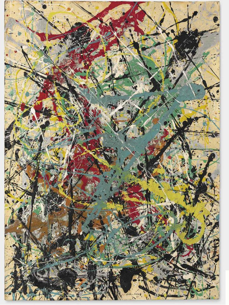 Джексон Поллок, Number 16, 1949