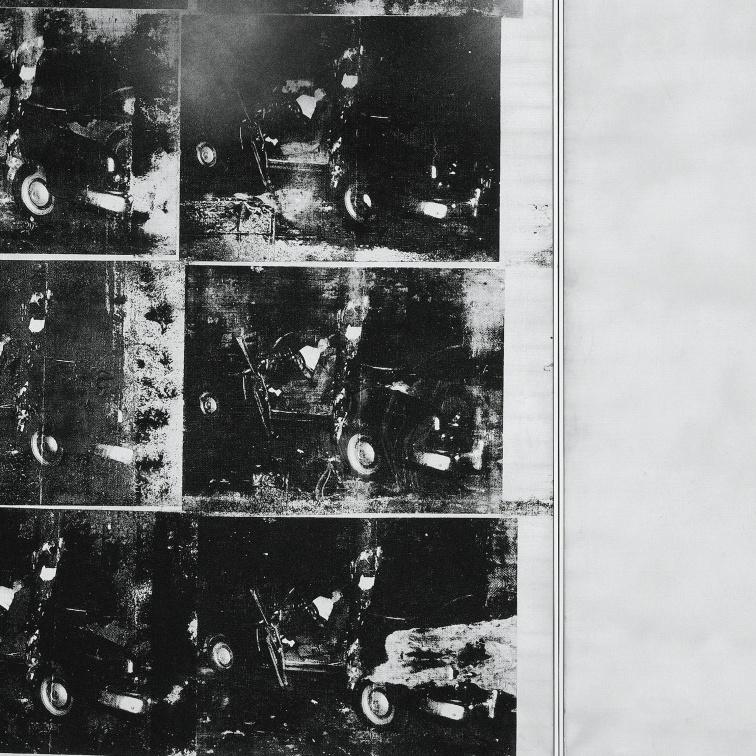 диптих «Авария серебряной машины (Двойная катастрофа)» (1963)