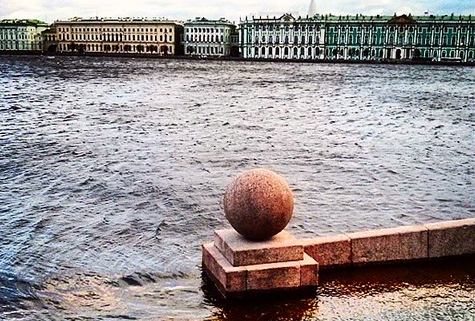#Питер #наводнение #Instagram