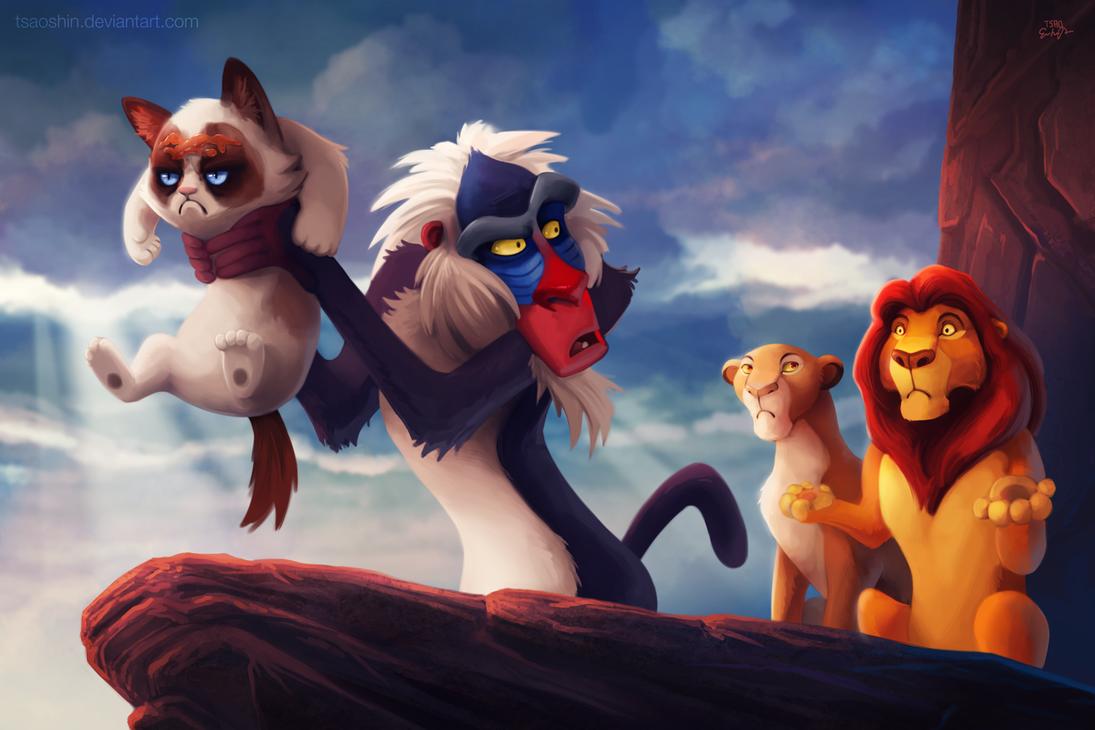 Мизантропическая кошка, диснеевские мультфильмы
