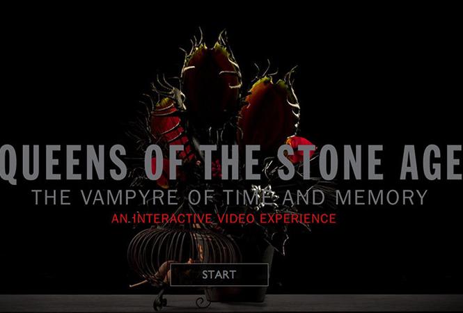Интерактивное видео от Queens of the Stone Age