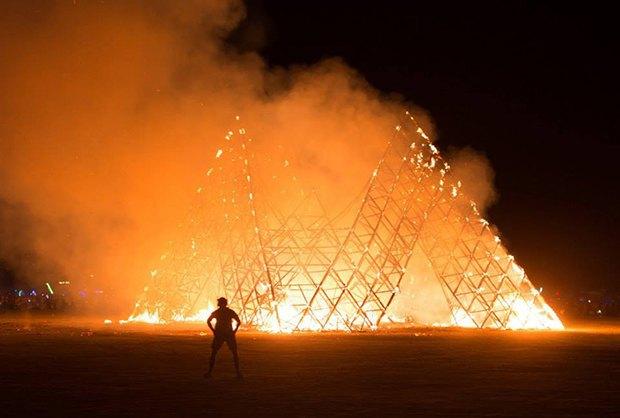 В Москве пройдёт официальная программа фестиваля Burning Man