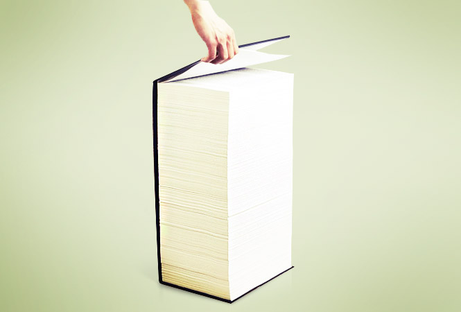Самые длинные романы в истории литературы