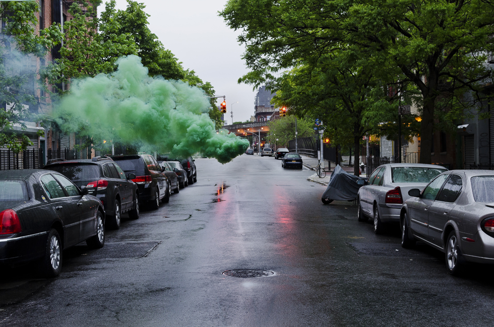 Дым в Бруклине