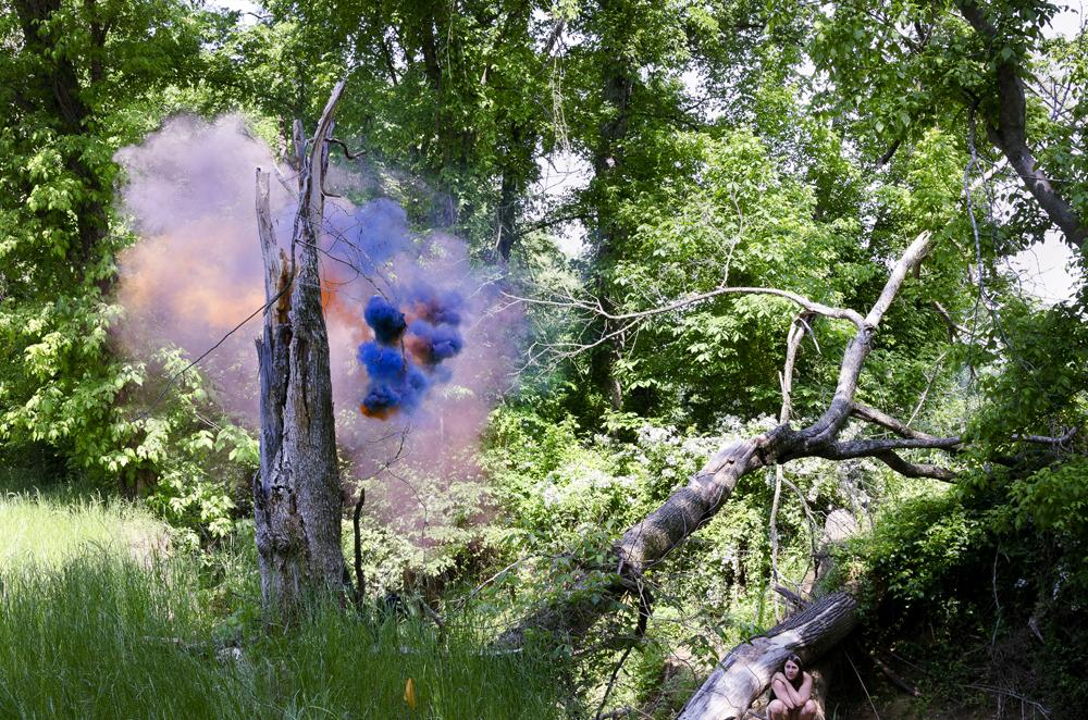 Дым где-то в штате Теннесси