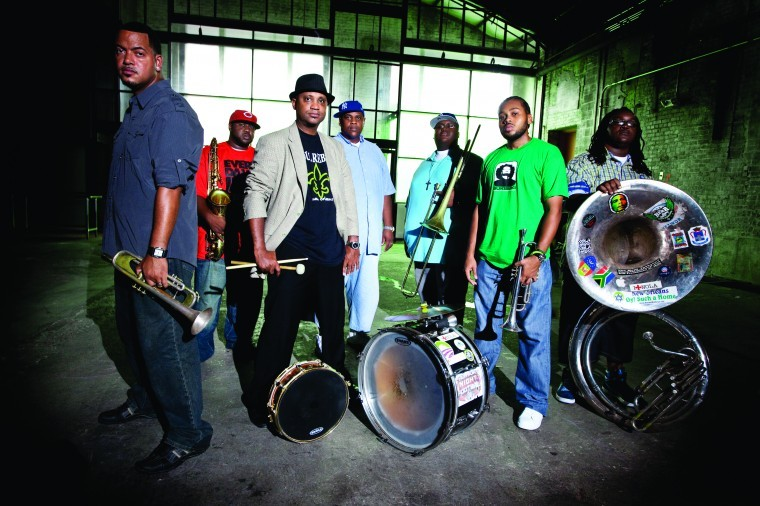 sweet dreams are made of this, The Soul Rebels Brass Band