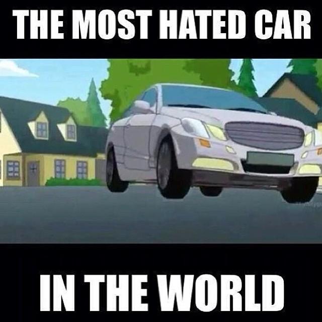 Самая ненавидимая машина во всём мире