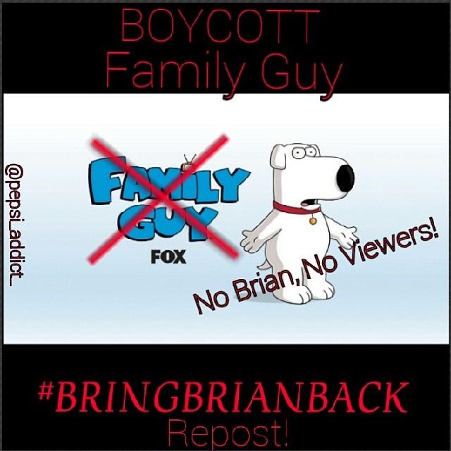 Призыв бойкотировать Family Guy