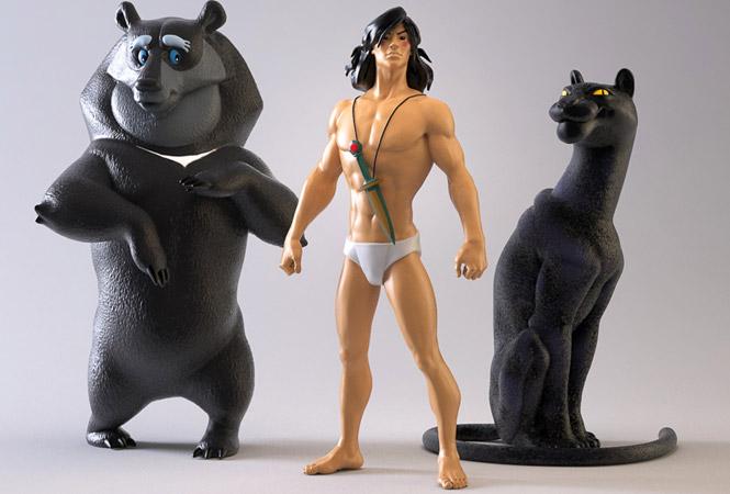 Это не игрушки: фигурки мультперсонажей, которых нет, но стоило бы сделать