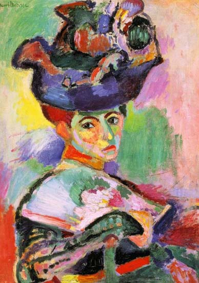 Женщину в шляпе Анри Матисс