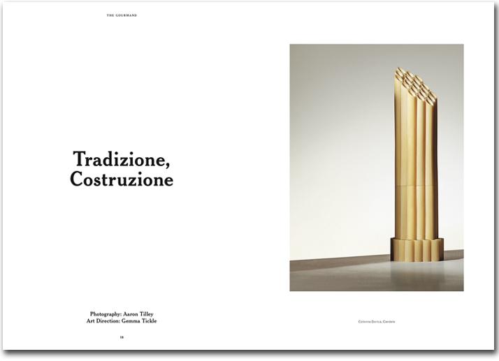 Традиции-Строительство, строить из макарон