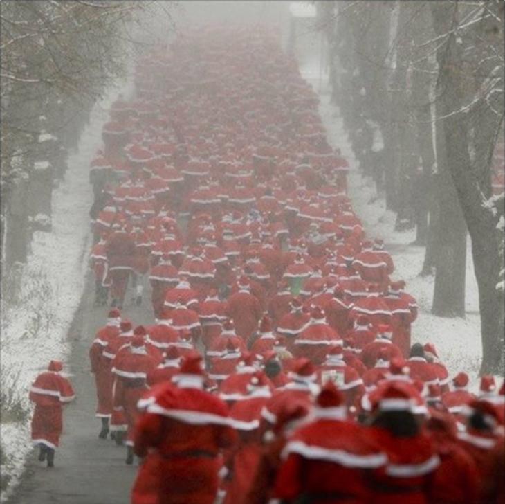 Беги, Санта, беги!