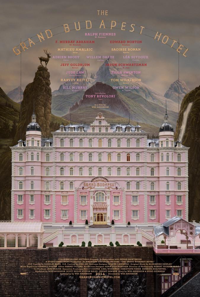 Плакат фильма «Отель Гранд Будапешт»