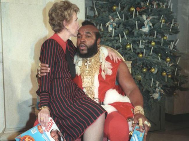 Santa Mr. T