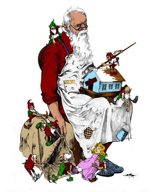 Santa by Cptpomeroy