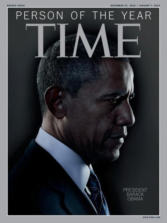 Барак Обама - человек года по версии журнала TIME