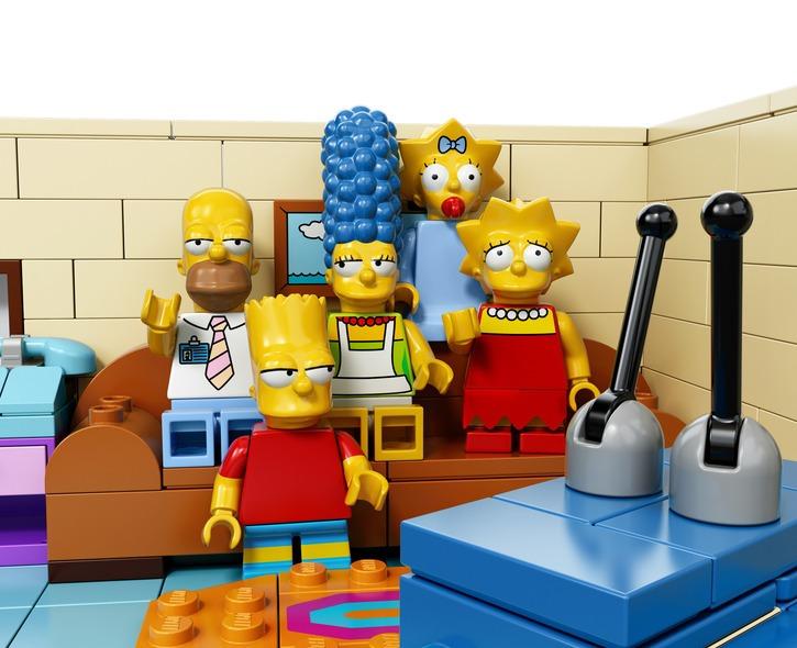 LEGO Simpson скоро в продаже