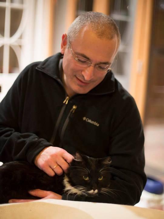 Ходорковский и котик