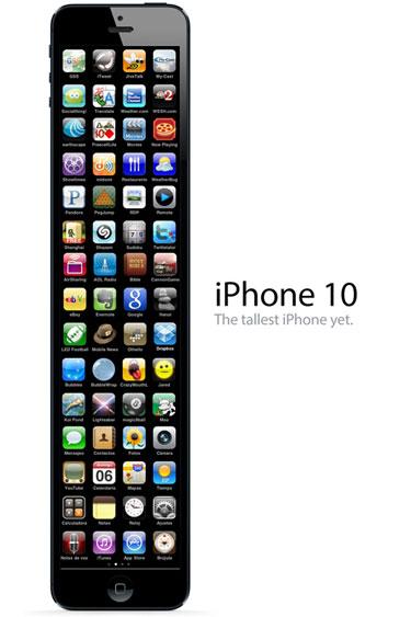 У новых айфонов будут большие дисплеи