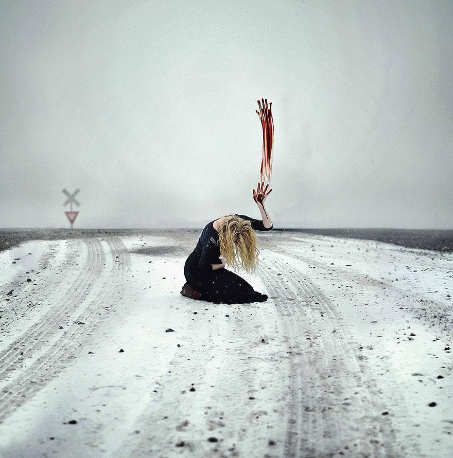 Сюрреализм 20-летнего фотографа