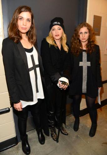 Участницы Pussy Riot встретились с Мадонной