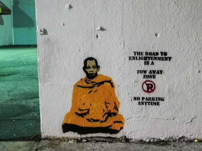 Plastic Jesus Budha