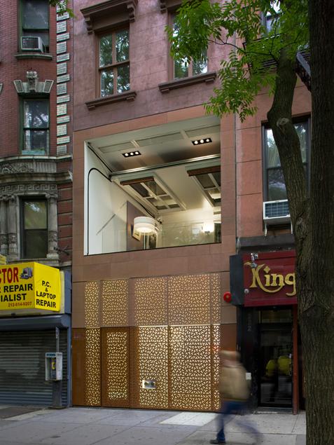 В Нью-Йорке продается оригинальная квартира с откидной стеной