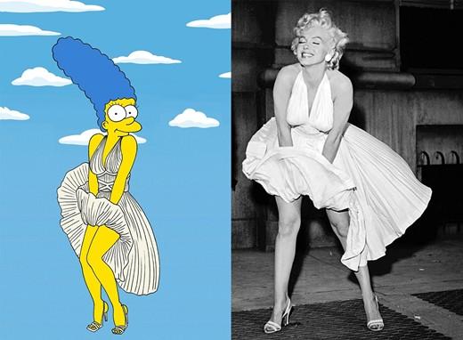 Домохозяйка из сериала Симпсоны превратилась в икону стиля