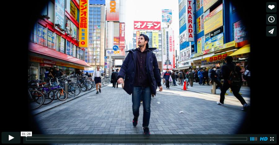 Токио задом наперед