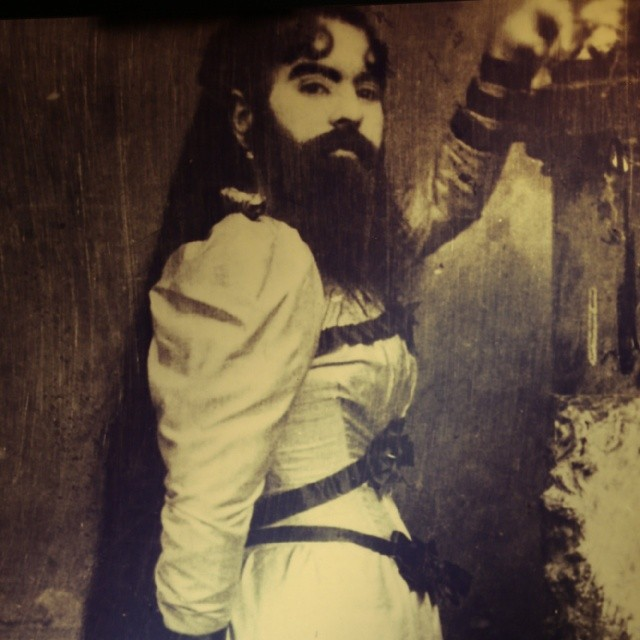Первая бородатая женщина