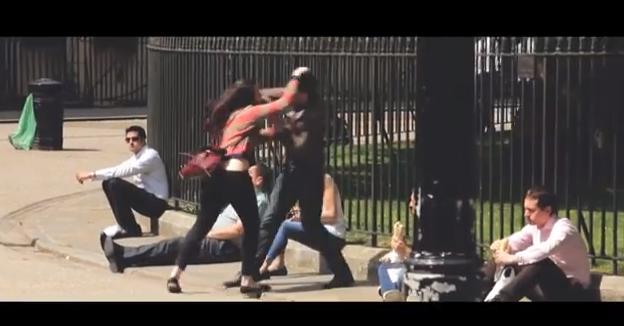 Что делать, если женщина бьет мужчину