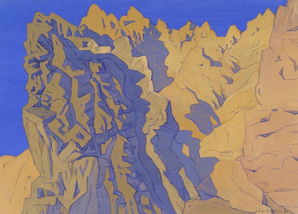 Новый выставочный проект Владимира Серебровского «В горах мое сердце…».
