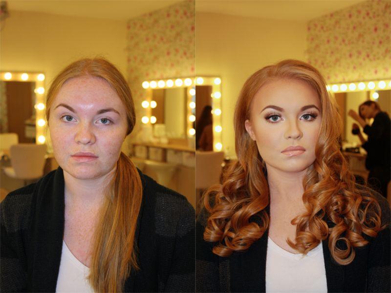 Невероятная сила макияжа