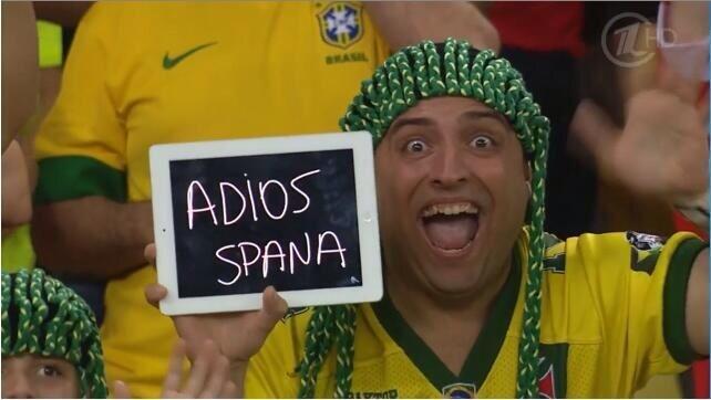 Испания, давай, до свидания!