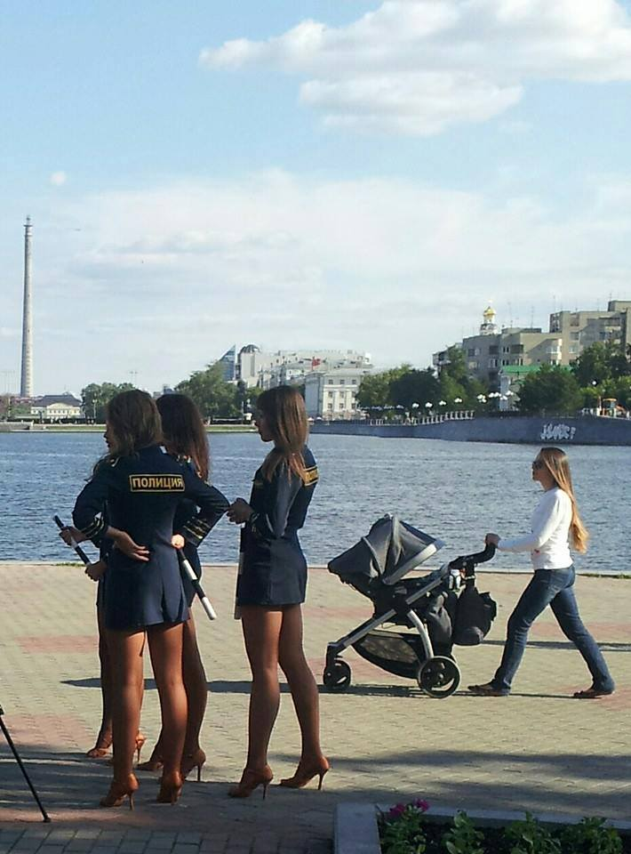 Вот такая полиция в Екатеринбурге