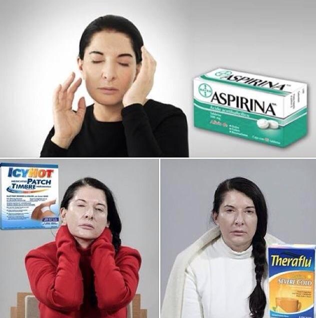 Марина Абрамович в рекламе