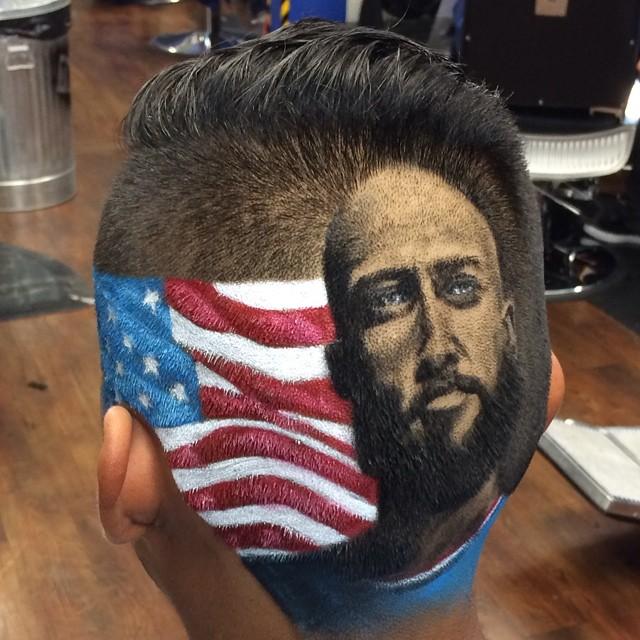 Самый крутой мужской парикмахер
