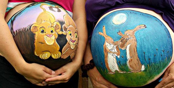 pregnant-bump-painting-carrie-preston-11