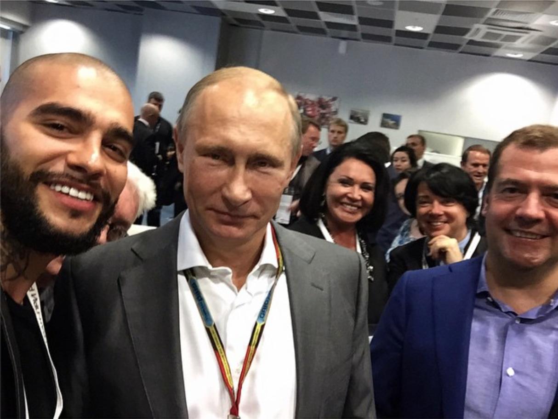 Лучшие селфи с Владимиром Путиным