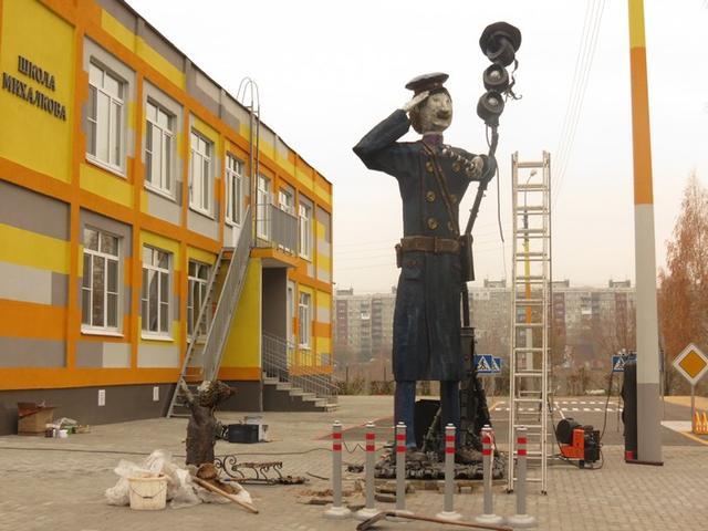 В Нижнем Новгороде установили памятник дяде Степе
