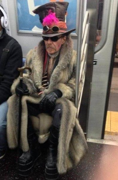Самые модные люди московского метро