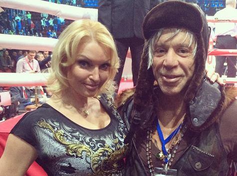 Волочкова и Микки Рурк. No comments