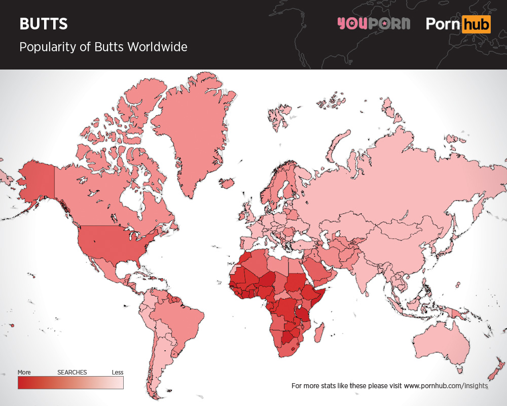 pornhub-butts-searches-worldwide