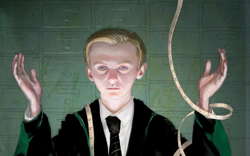 Первые иллюстрации к новому Гарри Поттеру