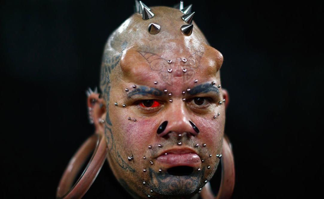 В Венесуэле прошел самый экстремальный фестиваль татуировок. 18+
