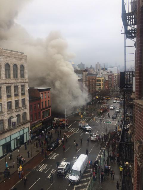 На Манхэттене прогремел взрыв. Пострадали более 30 человек