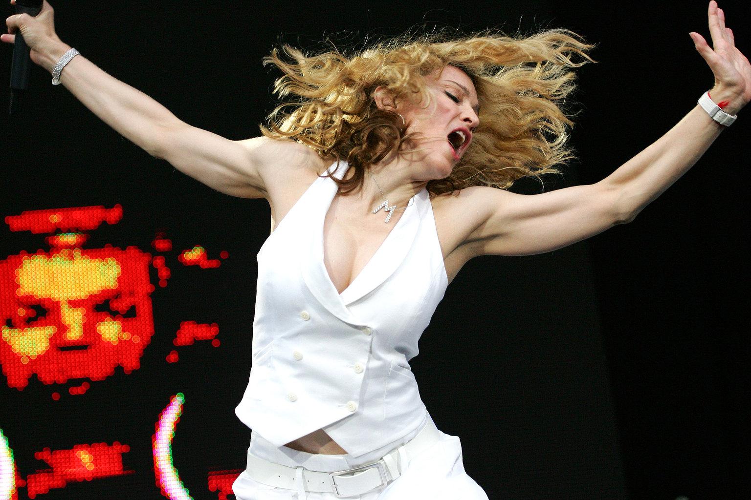 Мадонна представит свой новый клип через израильское приложение для смартфонов