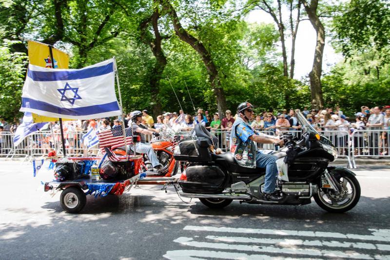 В Нью-Йорке прошел ежегодный марш в поддержку Израиля