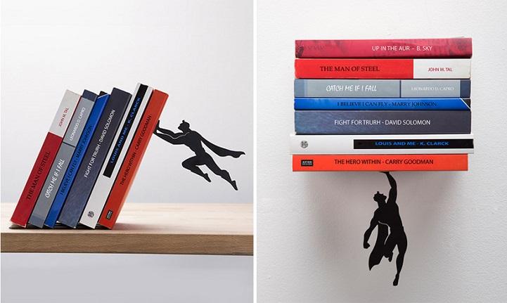 Ваши книги спасут супергерои